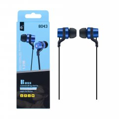 Auriculares HC Bass in Ear Azul