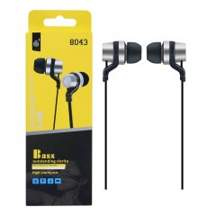 Auriculares HC Bass in Ear Plata