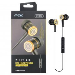 Auriculares Bluetooth MTK Boss in Ear con micro Negro