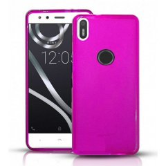 Funda BQ Aquaris X Gel Rosa