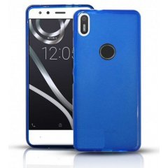 Funda BQ Aquaris X Gel Azul