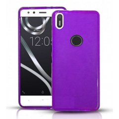 Funda BQ Aquaris X Gel Violeta