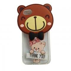Funda Iphone 7 3D Oso gracioso