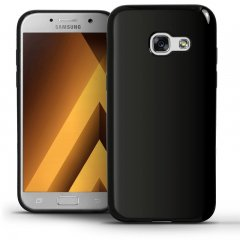 Funda Samsung Galaxy A3 2017 Gel Negra