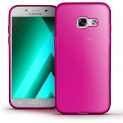 Funda Samsung Galaxy A3 2017 Gel Rosa