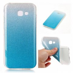 Funda Samsung Galaxy S8 Gel Purpurina Azul