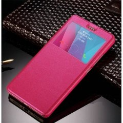 Funda Galaxy S7 Edge Flip View Cover Rosa