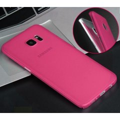 Funda Samsung Galaxy S7 Edge Gel Rosa