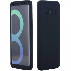 Funda Galaxy S8 Gel Blanda 360 Negra