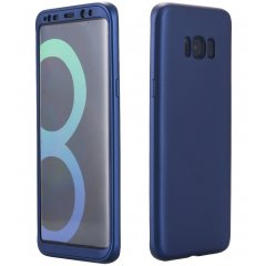 Funda Galaxy S8 Plus Gel Blanda 360 Azul