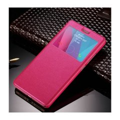 Funda Galaxy J5 2016 Flip View Cover Rosa