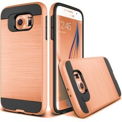 Funda Galaxy A5 2017 iSwag Metal Rosa