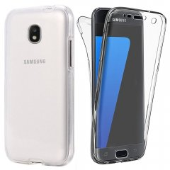 Funda Samsung Galaxy J3 2017 Gel Doble cara Transparente