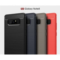 Funda Galaxy Note 8 Gel Cepillada
