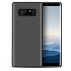 Funda Galaxy Note 8 Fibra Carbono Negra