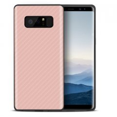 Funda Galaxy Note 8 Fibra Carbono Rosa