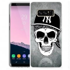 Funda Samsung Galaxy Note 8 Gel Dibujo Rock