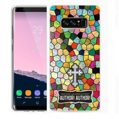 Funda Samsung Galaxy Note 8 Gel Dibujo Aisi