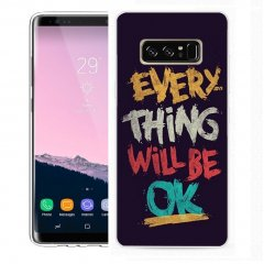 Funda Samsung Galaxy Note 8 Gel Dibujo Guay