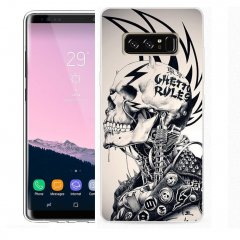 Funda Samsung Galaxy Note 8 Gel Dibujo Punk