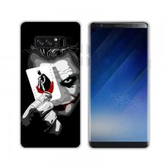 Funda Samsung Galaxy Note 8 Gel Dibujo Joker