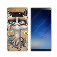 Funda Samsung Galaxy Note 8 Gel Dibujo Spoon