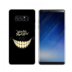 Funda Samsung Galaxy Note 8 Gel Dibujo Mad Here
