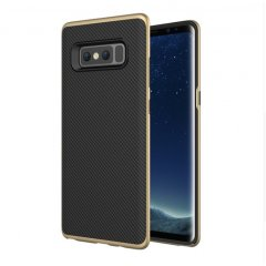 Funda Galaxy Note 8 Mofi Carbono Dorada