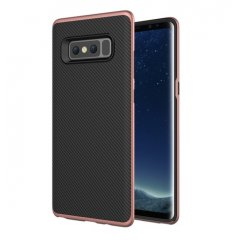 Funda Galaxy Note 8 Mofi Carbono Rosa