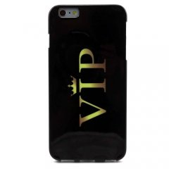 Funda iPhone 6 Plus Carcasa Negra Vip
