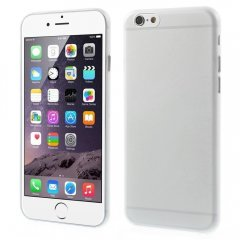 Funda iPhone 6 Plus Gel Extra Fina 0,3mm Anti Huella Transparente