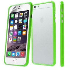 Funda iPhone 6 Plus Bumper Verde