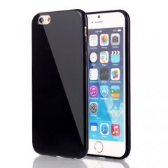 Funda iPhone 6 Plus Gel Negra